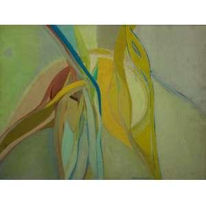 Maria Polo, Composição, Óleo sobre tela, 60 alt X 73 larg (cm), acid, Ano: 1978