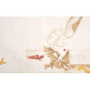 Sérgio Ferro, Composição, Técnica mista sobre papel, 31 alt X 44 larg (cm), acid