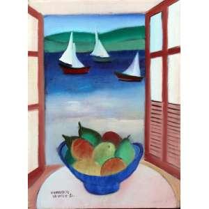 Humberto da Costa, Composição, Óleo sobre tela, 35 alt X 24 larg (cm), acie, Ano: 1981