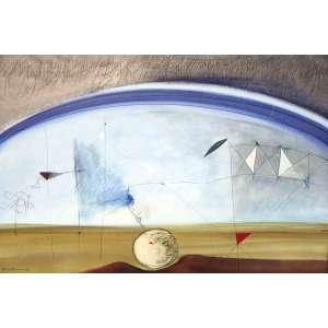 Dina Oliveira, Grafismo dos Astros, Técnica mista sobre papel, 73 alt X 101,5 larg (cm), acid, Ano: 1986