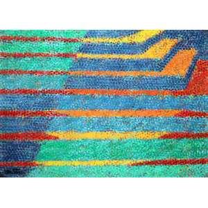 Cláudio Tozzi, Passagens, Acrílica sobre placa, 47 alt X 64 larg (cm), acie e verso -Histórico: Acompanha certificado emitido pelo próprio artista