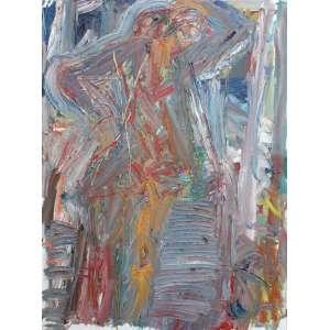 Antônio H. Cabral, Composição, Óleo sobre tela, 125 alt X 90 larg (cm), acid, Ano: 1986