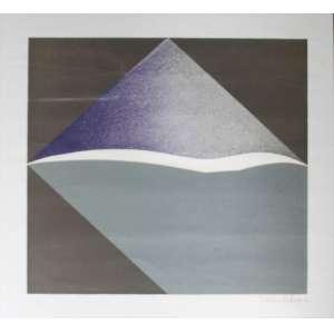 Tomie Ohtake, Abstrato, Gravura, 51 alt X 51 larg (cm), acid