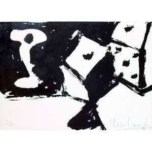 Iberê Camargo, Composição, Gravura, 22 alt X 31 larg (cm), acid, Ano: 1981, P/A