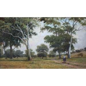 Mauro Ferreira, Jornada Matutina, Óleo sobre tela, 50 alt X 70 larg (cm), acid e verso, Ano: 1997