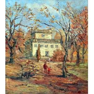 Donald Solo, Casario, Óleo sobre tela, 46 alt X 37 larg (cm), acid, Ano: 1923