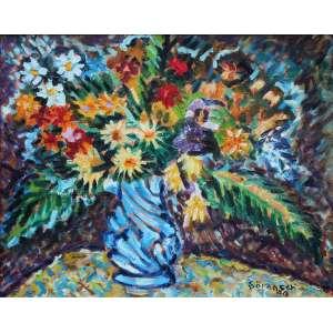 Carlos Sorensen, Dorinhas, Óleo sobre tela, 40 alt X 50 larg (cm), acid, Ano: 1988