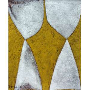 Tomie Ohtake, Composição, Óleo sobre tela, 30 alt X 22 larg (cm), acid e verso, Ano: 1968 (Obra catalogada no instituto Tomie Othake sob o numero P068-019)