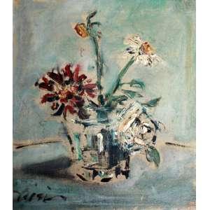 Filippo De Pisis, Vaso de Flores, Óleo sobre tela, 31 alt X 23 larg (cm), acie