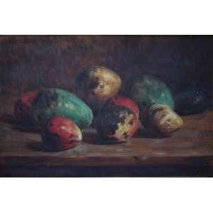 Pedro Alexandrino, Mangas, Óleo sobre tela, 38 alt X 55 larg (cm), acse