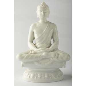 Buda en porcelana alemana Rosenthal firmado R. Forster circa 1930. 19 cm de alto.
