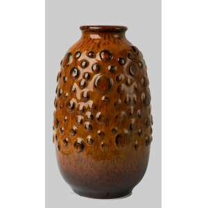 Florero en cerámica francesa diseño 1950. 25 cm de alto.