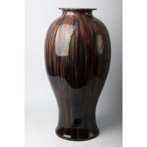 Florero en cerámica japonesa circa 1930. 60 cm de alto.