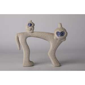 Figura en ceramica diseño circa 1960 europea. <br />Altura 19cm <br />Largo 22cm.<br />