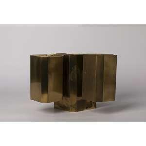 Luminarias realizas en bronce diseño años 60.<br />Altura 17 cm <br />Largo 30 cm <br />Ancho 30 cm.<br />