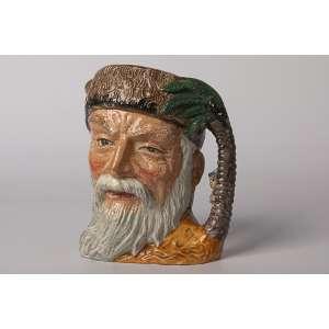 Mug en cerámica inglesa Royal Dulton Robinson Crusoe, Altura 17 cm.<br />