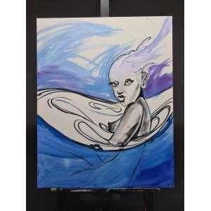 Artista: Milton Toller<br />Tamanho da tela: 100x80cm<br />Data: 23/02/2021<br />Técnica: Tinta acrílica<br />Sem moldura<br />