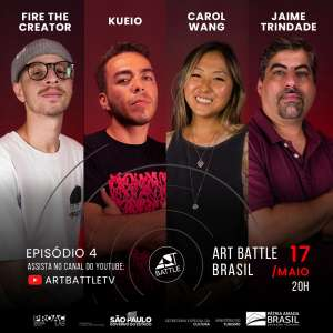 Art Battle - Episódio 4