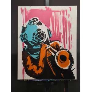 Artista: Spett<br />Tamanho da tela: 100x80cm<br />Data: 23/02/2021<br />Técnica: Tinta acrílica<br />Sem moldura