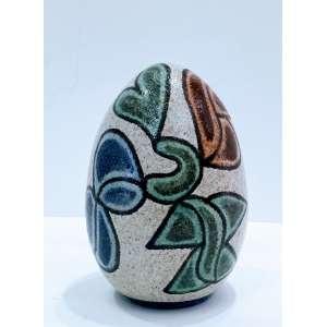 Francisco Brennand, Ovo, escultura de cerâmica, 16cm de altura