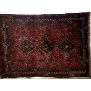 Lindo tapete Shiraz Kashgai medindo2,00 X 2,90