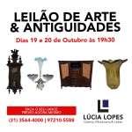 Lúcia Lopes Galeria e Molduraria - Leilão de Arte Antiguidades e Outros