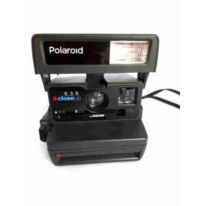 Colecionismo - Máquina fotográfica polaroid antiga . Não testada