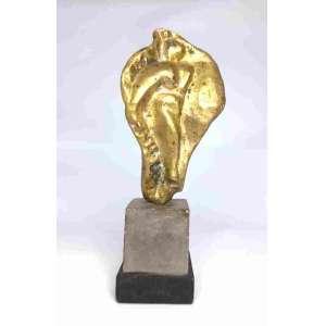 Maia Borkowski - Escultura em bronze- Medindo 22,5cm de altura
