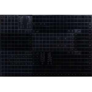 Ana Maria Tavares - CIP II, da Série Forgotten Mantras, aço inox colorido e gravado, ACM e alumínio anodizado, edição 1/1, 86,5 x 131,5 x 7,5 cm, assinado e datado 2016 no verso.