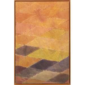 Carlos Vergara - Composição, óleo sobre tela, 64 x 42 cm, assinado e datado 1984 no verso.