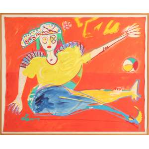 Ivald Granato - A Pirata, óleo sobre tela, 130 x 104 cm, sem data