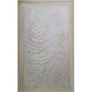 Franz Krajcberg - sem título, papel moldado, edição 6/10, 88 x 50 cm, 1979, assinado e datado no canto inferior direito
