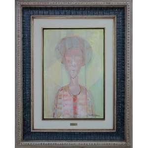 Cândido Portinari - Homem, óleo sobre madeira, 60 x 40 cm, assinado e datado 1961 no canto inferior direito. Reproduzido no catálogo raisonée à pg. 50 do volume V, sob nº 4817