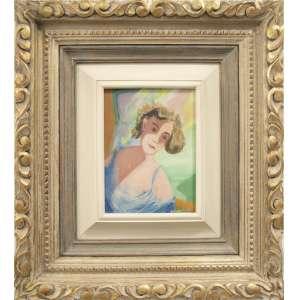 Cícero Dias - sem título, óleo sobre tela, 16 x 21 cm, assinado no canto inferior direito