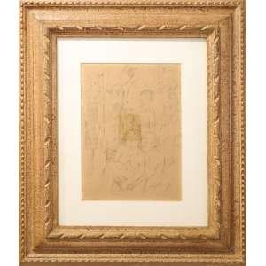 Lasar Segall - Mangue, litografia sobre papel, 33 x 24 cm, assinado no canto inferior esquerdo.