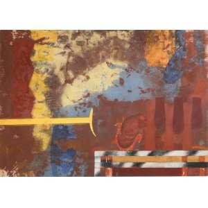 Carlos Vergara - sem título, acrílica sobre tela, 136 x 190 cm, assinado e datado no verso 2005