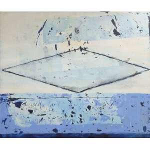 Sérgio Fingermann - sem título, acrílica sobre tela, 160 x 200 cm, assinado e datado 2000 no verso
