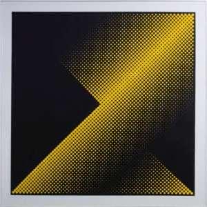 Almir Mavignier - III-02 convex concavo deslocamento diag hamburgo, gravura, 78 x 78 cm, 1967