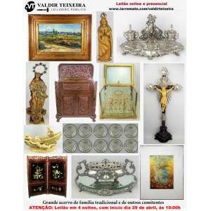 Galeria Valdir Teixeira - GRANDE LEILÃO DE ABRIL (4 NOITES) - Início SEGUNDA-FEIRA, dia 29/04/2019.