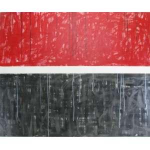 BEATRIZ LOPES - ABSTRATO - ACRILICO SOBRE TELA - 90X110 cm.