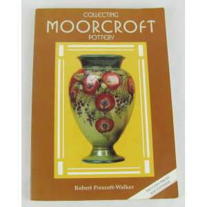 Livro - Collecting Moorcroft Pottery por Robert Prescott
