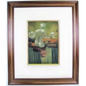 ENRICO BIANCO (1918-2013) - NÚ FEMININO - OSE - 35x25. Assinado e datado de 1971. Obra analisada pelo filho do artista, com possibilidade de emissão de certificado de autenticidade (por conta do comprador).