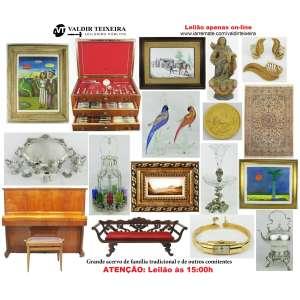 Galeria Valdir Teixeira - ATENÇÃO: INÍCIO ÀS 15:00H, TERÇA-FEIRA - GRANDE LEILÃO DE MAIO (3 DIAS)
