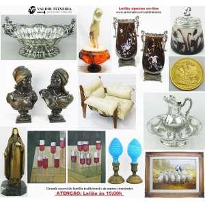 Galeria Valdir Teixeira - ATENÇÃO: INÍCIO ÀS 15:00H, SEGUNDA-FEIRA, DIA 19 - GRANDE LEILÃO DE OUTUBRO (4 DIAS)