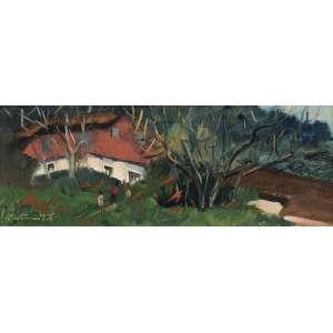 Bustamante Sá<br>Campos do Jordão <br>OSE 15 x 41 ACIE<br><br><i>Cachet da Petite Galerie</i>