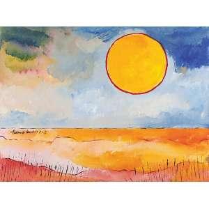 Aldemir Martins<br>Paisagem AST<br>60 x 80 2002 ACIE<br>Com certificado do artista