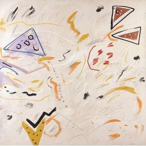 ANA HORTA<br>Díptico AST<br>150 x 300 Painel com 150 x 150 cada <br>Fase minimalista. Este conjunto é um dos selecionados para a Grande Retrospectiva da Artista a realizar-se em Belo Horizonte