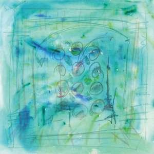 ARTHUR BARRIO<br>Abstração AST <br>100 x 100 1987 <br>ACSE e Verso