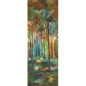 Wilde Lacerda - Bois na Floresta OST - 80 x 30 1972 ACID