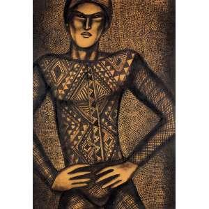 Farnese de Andrade - Figura Masculina TM - 70 x 50 Déc. 80 ACID